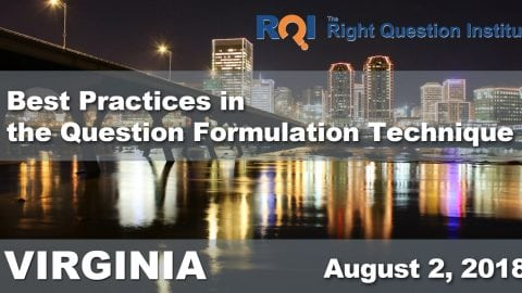 2018 Southeast Seminar on Best Practices in the Question Formulation Technique