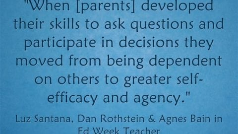 'Partnering With Parents' by Asking Questions